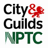 new nptc city-guilds logo